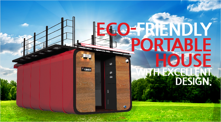 Eco-Friendly Portable House with Excellent Design.